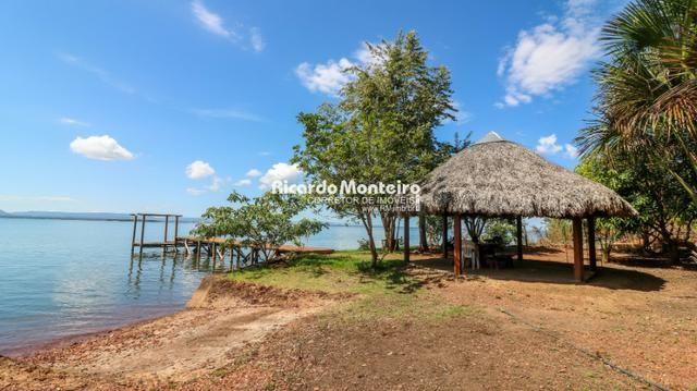Chácara na beira do lago, pronta para morar a 22km do centro de Palmas - Foto 11
