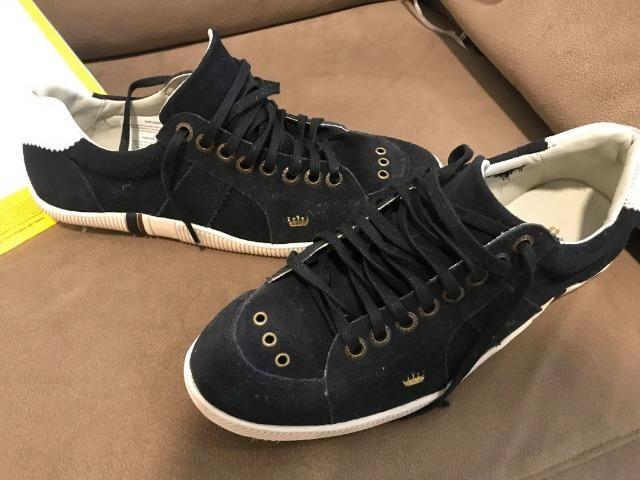 3bf914985e Venda-se Sapatenis Osklen Azul - Nunca Usado - Roupas e calçados ...