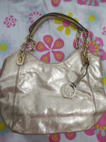 6d0706373 Michael Kors bolsa original ombro dourada nova - Bolsas, malas e ...