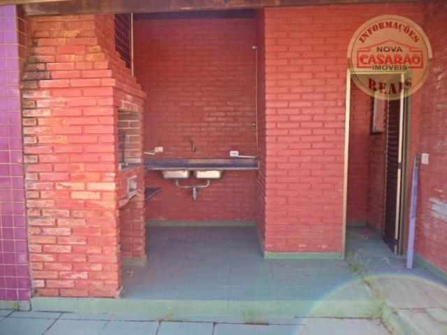 Apartamento com 1 dormitório à venda, 61 m² por R$ 225.000 - Boqueirão - Praia Grande/SP - Foto 17