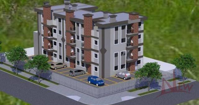 Excelente apartamento com 03 quartos (1 suíte) no Afonso Pena, São José dos Pinhais - Foto 8