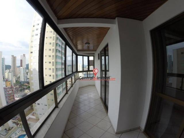 Apartamento com 3 dormitórios para alugar, 128 m² por r$ 450/dia - centro - balneário camb - Foto 15