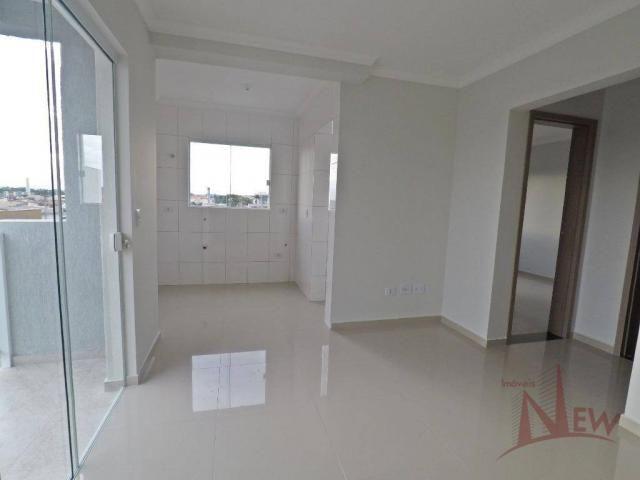 Excelente apartamento com 02 quartos no Cidade Jardim, São José dos Pinhais - Foto 3