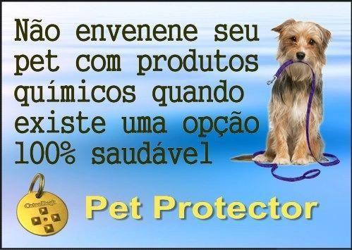 Pet Protector contra pulgas, carrapatos e mosquitos - Foto 2