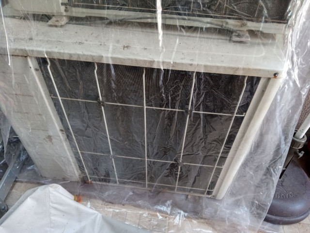 Ar condicionado para retirada de peças
