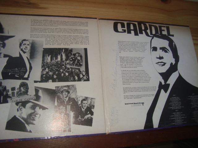 Carlos Gardel, Tango, Album duplo com 2 Lp importados, excelente conservação - Foto 3