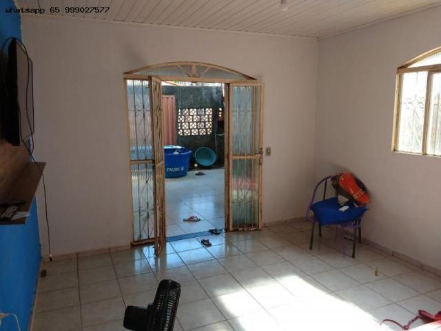 Casa Usada para Venda em Várzea Grande, 07 de maio, 2 dormitórios, 1 banheiro, 1 vaga - Foto 2