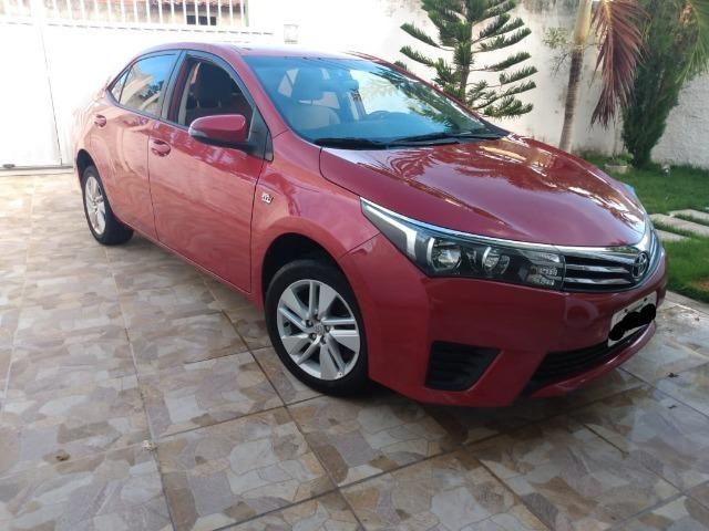 Toyota Corolla GLI 1.8 2015 FLEX - Carro Extra! - Foto 2
