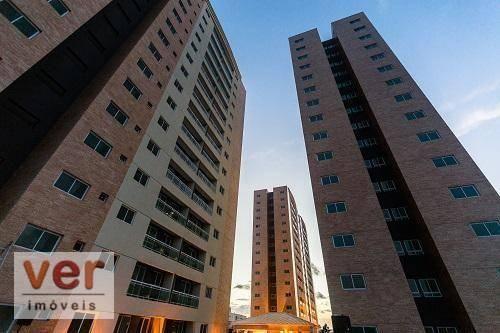 Apartamento à venda, 61 m² por R$ 360.000,01 - Parangaba - Fortaleza/CE - Foto 2