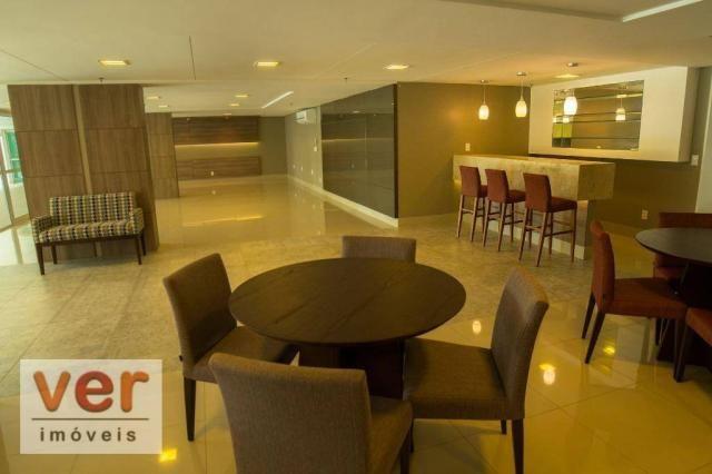 Apartamento à venda, 111 m² por R$ 1.060.000,00 - Cocó - Fortaleza/CE - Foto 3