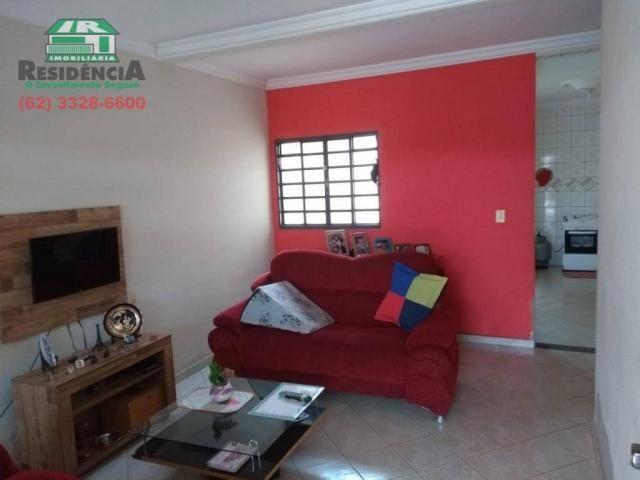 Casa com 3 dormitórios à venda, 98 m² por R$ 260.000 - Alvorada - Anápolis/GO - Foto 3