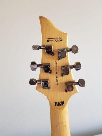 Guitarra esp ltd f10 black limited - Foto 2