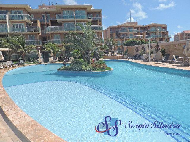 Apartamento no Palm Beach no Porto das Dunas com 2 quartos - Foto 2