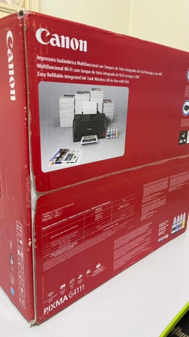 Impressora Multifuncional Canon Mega Tank G4111, Jato de Tinta, Colorida, Wi-Fi, Bivolt - Foto 2
