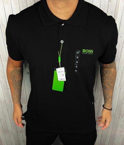 Camisa polo Boss