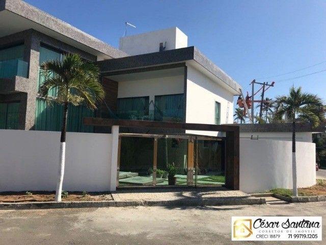 Alugo  linda Casa Independente Alto Padrão 4/4 suítes Na Orla de Vilas do Atlântico. - Foto 17