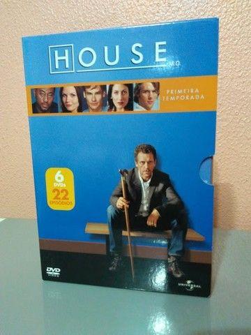 House DVD Temp 01 a 05 - Foto 2
