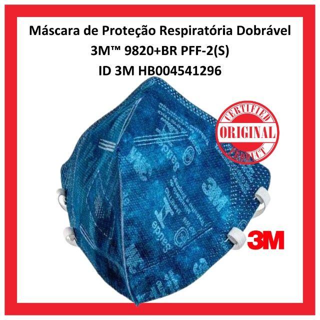 Máscara De Proteção Respiratória PFF2 3m 9820+BR