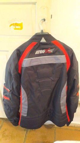 jaqueta de motociclista com proteção - Foto 2
