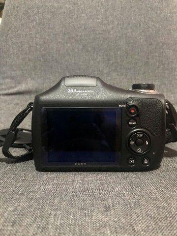 Câmera Sony Cyber-shot DSC-H300 QUERO VENDER LOGO - Foto 3