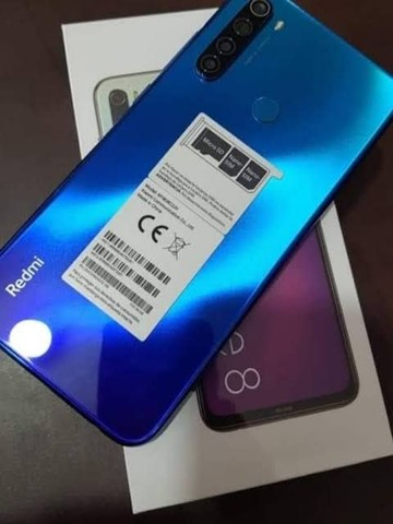 Redmi Note 8, (nunca usado) na caixa.
