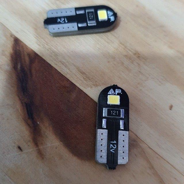 Ultra Led ASX H7 Unidade + Par pingo led - Foto 3