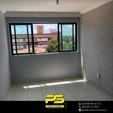 Apartamento com 2 dormitórios para alugar, 60 m² por R$ 1.700/mês - Altiplano Cabo Branco  - Foto 15
