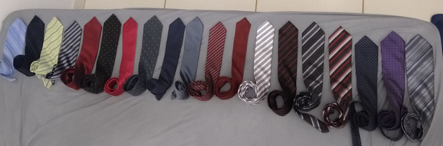 Vendo 19 lindas gravatas variadas - Foto 2