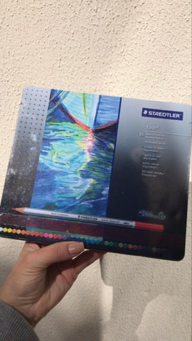 Lápis Aquarelável -  Karat Staedtler 35 cores - Foto 3