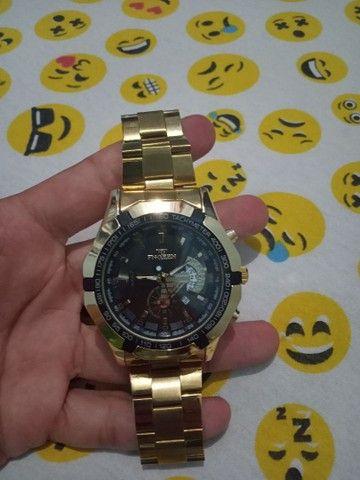 Relógio cor Gold - Foto 4