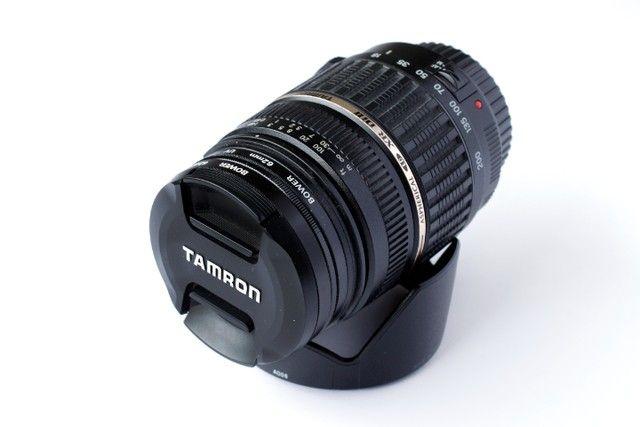 Lente Tamron 18-200mm Xr Di Ii Para Canon Super Novinha