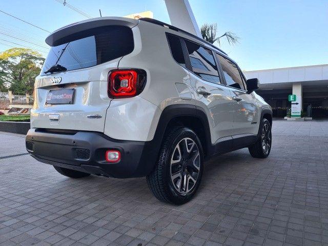 Jeep Renegade Longitude 1.8 Flex /Bco Perolizado