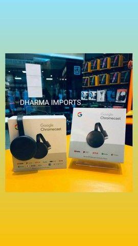 Chromecast geração 3 original e lacrado. - Foto 5