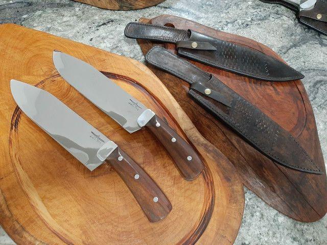 Faca para churrasco artesanal picanheiras - Foto 4