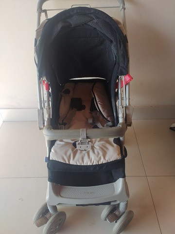 Carrinho de bebê e bebê conforto Galzerano - Foto 3