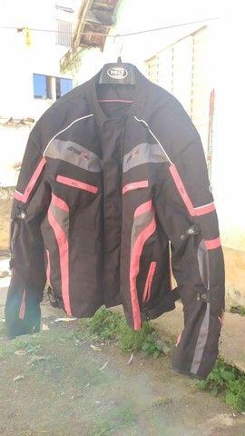 jaqueta de motociclista com proteção - Foto 3