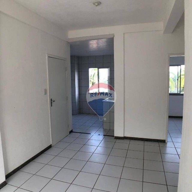Apartamento com 2 dormitórios para alugar, 51 m² por R$ 820,00/mês - Edson Queiroz - Forta - Foto 4