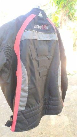 jaqueta de motociclista com proteção - Foto 5