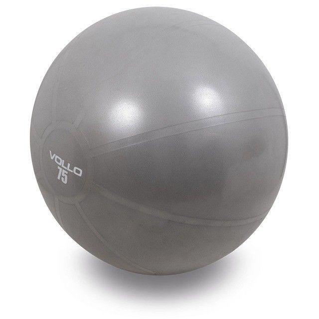 Bola de Pilates c/Bomba 55,65 e 75cm -Vollo - Foto 3