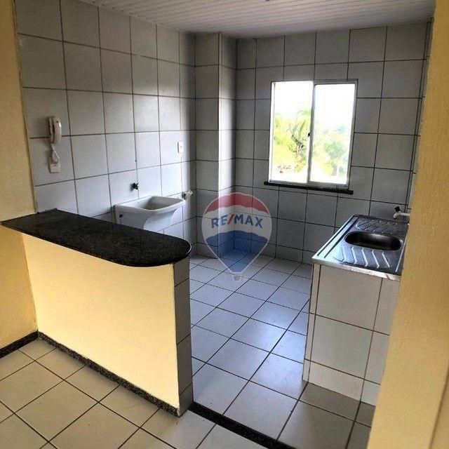 Apartamento com 2 dormitórios para alugar, 46 m² por R$ 750,00/mês - Edson Queiroz - Forta - Foto 7