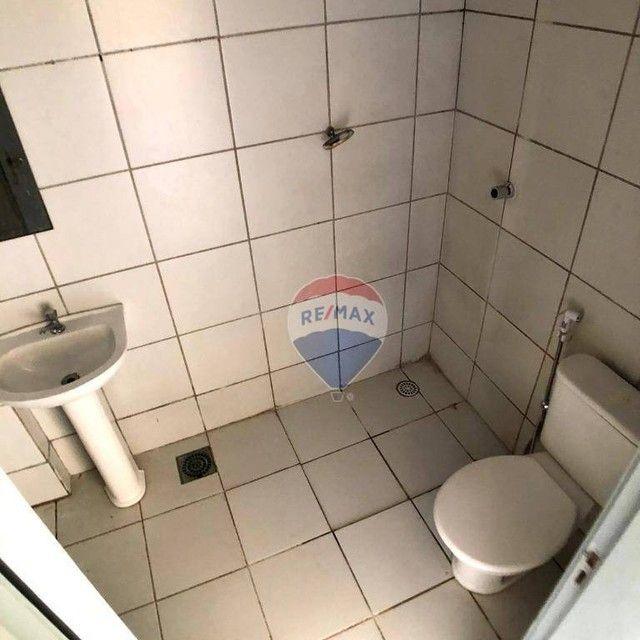 Apartamento com 2 dormitórios para alugar, 46 m² por R$ 750,00/mês - Edson Queiroz - Forta - Foto 12