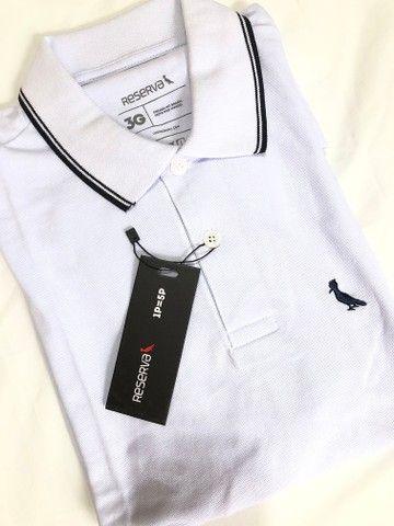 Blusa Polo Masculina - Foto 4