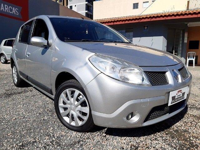 Sandero Privilege 1.6 8V Completo 2009 - Aceito Troca - Financio 100% - Foto 3