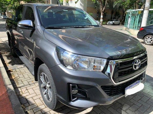HILUX SRV 2019/2019 COMPLETA ÚNICO DONO.