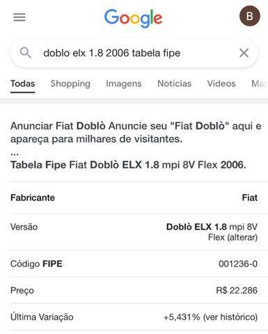 Doblo ELX 1.8 FLEX - Foto 10