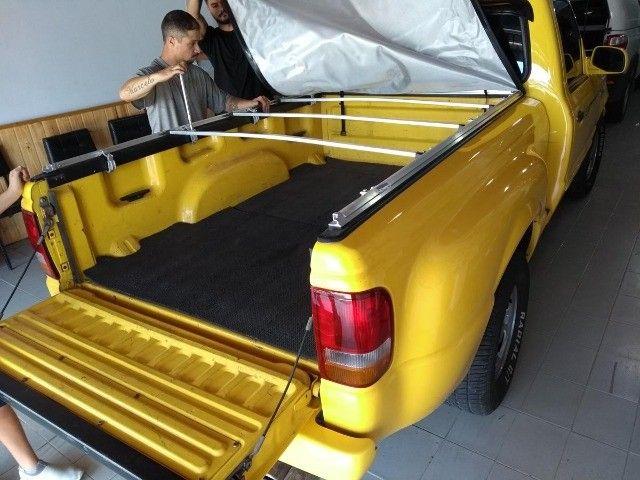 Capota Matitima  Amarok S10 Ranger Frontier Hilux  Saveiro Strada Montana instalada. - Foto 3