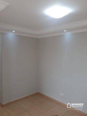 Apartamento com 3 dormitórios para alugar, 64 m² por R$ 900,00/mês - Zona 08 - Maringá/PR - Foto 9