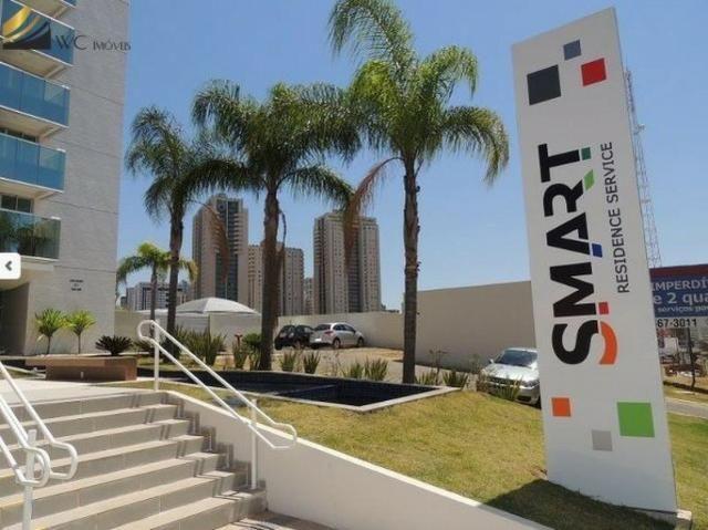 Apto de 1 quarto em Águas Claras 39 m² lazer top Ed. Smart Residence