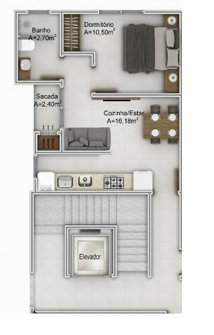 Apartamento em Florianópolis, Ingleses, 1 quarto, á 100 metros da praia