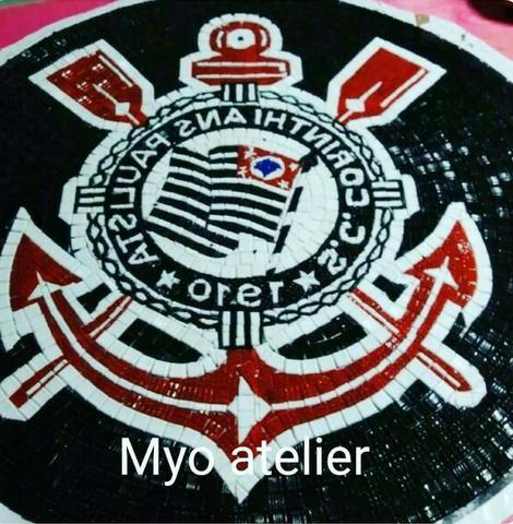 Corinthians Mosaico, Piso, parede, quadro, mesa, piscina - Foto 5